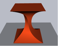 3D pipes sample: Table