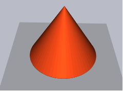 3D Pipes sample: Cone
