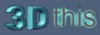 3Dthis logo