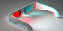 red/cyan glasses