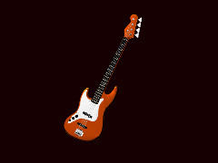 Fender Bass Guitar by Alain
