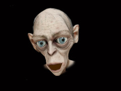 Gollum by Andreas