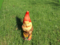 Garden gnome by Chris