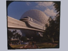 EPCOT Monorail 1983 by Aaronwe