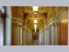 Hallway in Library of Congress by Danp