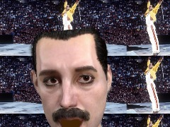 Freddie Mercury by Barbosa
