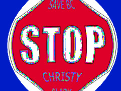 Stop Christie  Clark  by Judie