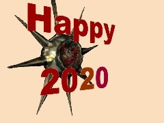 Happy New Year by 3dthis
