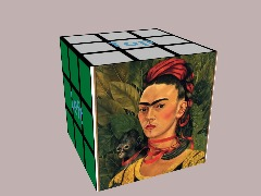 Frida Cube by Uniquesnaps