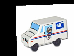 Mail truck by Sdarby
