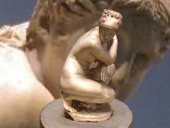 Aphrodite Crouching by Alain