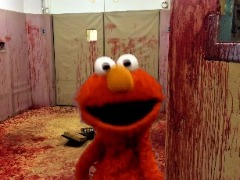 Killer Elmo by MindSpaceApocalypse
