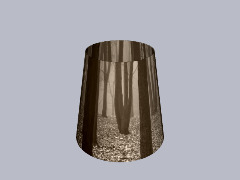 Creepywoods Lampshade by PopCulture