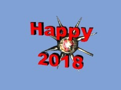 Happy 2018 by 3dthis