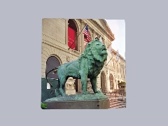 Art Institute Lion by Danp