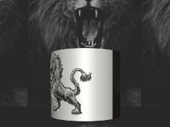 Lion Lamp by Trapsavge86