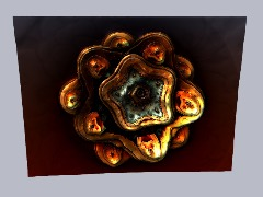 Mandelbulb Rose by Lelle