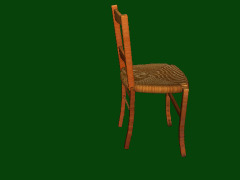 A real chair by Chris