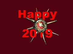 Happy 2019 by 3Dthis