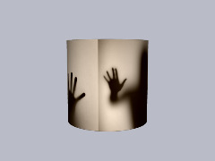 Creepy Lampshade by Popculture