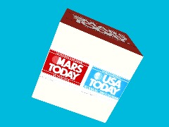 Mars Today Cube by Astronaut1
