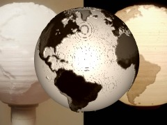 New!!! Sphere Lithophane by 3Dthis