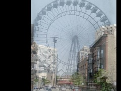 World's first Ferris Wheel, Chicago by Bredlo
