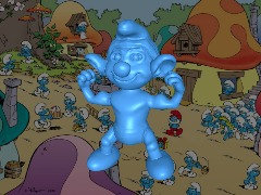 Hefty Smurf by Doug14