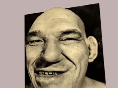 Maurice Tillet (The French Angel) by Nada