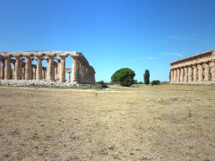 Paestum ruins, Italy by Chris