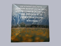 Citation de Nelson Mandela by Dede06