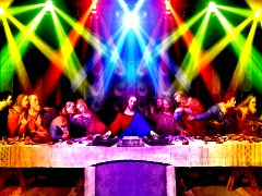 Jésus DJ by Gobbo