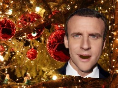 French President Singing xmas by 3dthis