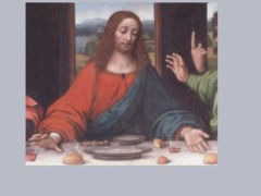 Last Supper Christ by Ccruzme