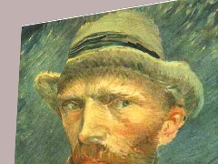 Van Gogh Self Portrait by Dardar