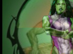 She hulk by Kittykim63