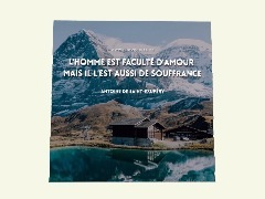 Citation d'Antoine de Saint-Exupéry by Dede06