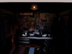 Fnaf 1 office by Rivalzz