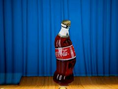 Dancing coke by Alain