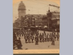 1901  Knight Templars Escorting President Mckinley, In Their Grand Reception, San Francisco, Cal. by Brand0222