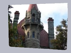 Castle in Victoria by Dicham