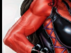 Red she hulk by Kittykim63