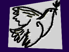 Peace Dove  by Judie