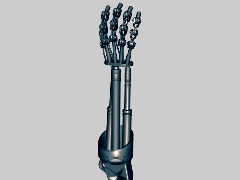 3D Hand Terminator Arm by Kote