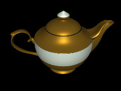 Changing color teapot by Alain