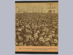 1893 -The Surging Sea Of Humanity At The Opening Of The Columbian Exposition. by Brand0222