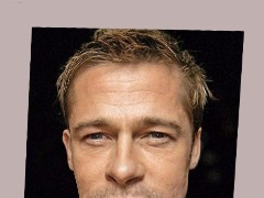 Brad Pitt 3D by Angela