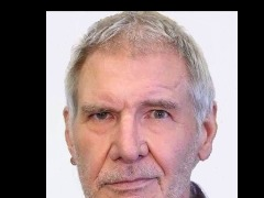 Harrison Ford / & Mirror View by Eureka