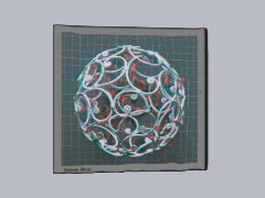 Ornate 3D ball by Brand0222