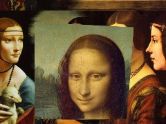 MONA LISA Smile by Barbosa